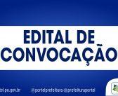 EDITAL DE CONVOCAÇÃO N°. 0019, DE 17 DE MARÇO DE 2021.